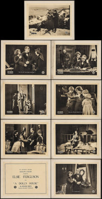 "A Doll's House (Artcraft, 1918). Lobby Card Set of 9 (11"" X 14""). Drama. ... (Total: 9 Items)"
