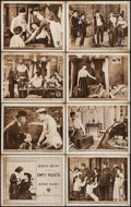 "Movie Posters:Mystery, Empty Pockets (First National, 1918). Lobby Card Set of 8 (11"" X14""). Mystery.. ... (Total: 8 Items)"