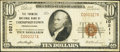 National Bank Notes:Pennsylvania, Thompsontown, PA - $10 1929 Ty. 1 The Farmers NB Ch. # 10211. ...