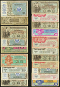 Military Payment Certificates:Series 701, Good Variety of Twenty MPC. Very Good or better.. ... (Total: 20 notes)