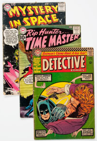 DC Silver Age Short Box Group (DC, 1960s) Condition: Average GD