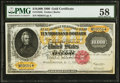 Large Size:Gold Certificates, Fr. 1225h $10,000 1900 Gold Certificate PMG Choice AboutUncirculated 58.. ...