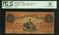 Dubuque, IA- State Bank of Iowa $5 Dec. 1, 1863 Haxby R-10 Oakes 60-11
