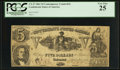 CT37 Counterfeit $5 1861 Tremmel Unlisted