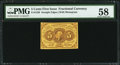Fractional Currency:First Issue, Fr. 1230 5¢ First Issue PMG Choice About Unc 58.. ...