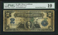 Fr. 250 $2 1899 Silver Certificate PMG Very Good 10