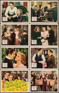 "Rose of Washington Square (20th Century Fox, 1939). Lobby Card Set of 8 (11"" X 14""). Musical. ... (Total: 8 It..."