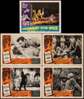 "Movie Posters:Science Fiction, Fire Maidens of Outer Space & Other Lot (Topaz, 1956). LobbyCards (5) (11"" X 14""). Science Fiction.. ... (Total: 5 Items)"