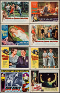 "Movie Posters:Bad Girl, Gun Girls & Others Lot (Astor Pictures, 1957). Lobby Cards (8)(11"" X 14""), Uncut Pressbook (4 Pages, 11"" X 17""), & Herald(... (Total: 10 Items)"