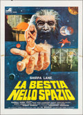 "Movie Posters:Science Fiction, The Beast in Space (Sigma, 1978). Italian 4 - Fogli (55.25"" X 76.75""). Science Fiction.. ..."