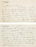 Autographs:Statesmen, William Jennings Bryan Autograph Letter Signed....