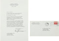 Autographs:U.S. Presidents, Harry Truman Typed Letter Signed.... (Total: 2 Items)