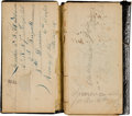 Militaria:Ephemera, Union Soldier's Diary of Martin V. B. Hutchison, Co. K, 67thRegiment Pennsylvania Volunteer Infantry. ...