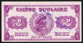 Canadian Currency: , Canada Montreal Caisse Scolaire $2 Reserved Rights 1920.. ...