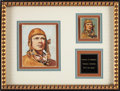 "Non-Sport Cards:Unopened Packs/Display Boxes, 1933-34 R316 National Chicle ""Sky Birds"" Charles Lindbergh #36Original Artwork and Card! ..."