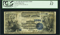 Danville, IL - $50 1882 Date Back Fr. 563 The Second NB Ch. # (M)2584