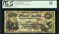 National Bank Notes:Montana, Helena, MT - $10 1882 Brown Back Fr. 490 The NB of Montana Ch. # (W)5671. ...