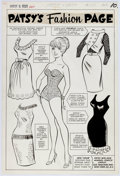 "Original Comic Art:Panel Pages, Al Hartley Patsy and Hedy #101 ""Patsy's Fashion Page""Original Art (Marvel, 1965)...."
