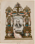 Political:Small Paper (pre-1896), Henry Clay: Chromolithograph Sheet Music....