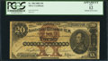 Large Size:Silver Certificates, Fr. 308 $20 1880 Silver Certificate PCGS Apparent Fine 12.. ...