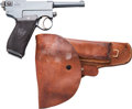 Handguns:Semiautomatic Pistol, Italian Navy F.A.B. Glisenti Model 1910 Semi-Automatic Pistol....(Total: 2 Items)