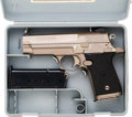 Handguns:Semiautomatic Pistol, Cased Star Eibar Model 43 Firestar Semi-Automatic Pistol.... (Total: 2 Items)