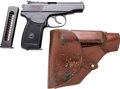 Handguns:Semiautomatic Pistol, Russian Baikal Model IJ-70 Semi-Automatic Pistol with LeatherHolster.... (Total: 3 )