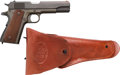 Handguns:Semiautomatic Pistol, Auto-Ordnance Model 1911A1 U.S. Army Semi-Automatic Pistol with Leather Holster.... (Total: 2 )