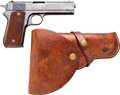 Handguns:Semiautomatic Pistol, Colt Model 1903 Pocket Hammer Semi-Automatic Pistol withHolster.... (Total: 2 Items)