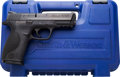 Handguns:Semiautomatic Pistol, Cased Smith & Wesson M&P9 Model Semi-Automatic Pistol....(Total: 2 Items)