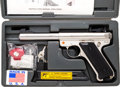 Handguns:Semiautomatic Pistol, Cased Sturm Ruger Mark II Target Semi-Automatic Pistol.... (Total: 3 Items)
