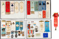 Military & Patriotic:Civil War, Fantastic Collection of 1st Minnesota Volunteer Infantry Reunion Medals, Badges and Ribbons....