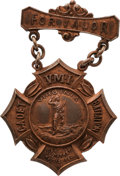 Military & Patriotic:Civil War, Battle of New Market: VMI Cadet Award Medal....