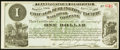 Obsoletes By State:Iowa, Newton, IA- Chicago Burlington and Pacific Rail Road Company $1Apr. 1, 1882. ...