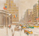 Guy Carleton Wiggins (American, 1883-1962) Winter at the Library, 1957 Oil on canvas 20 x 24 inches (50.8 x 61.0 cm)