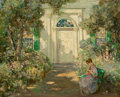 Paintings, Abbott Fuller Graves (American, 1859-1936). New Hampshire Home. Oil on canvas. 16-1/4 x 20-1/4 inches (41.3 x 51.4 cm). ...