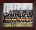 Football Collectibles:Photos, 1966 Green Bay Packers Team Signed Oversized Photograph - Super Bowl I Season! ...