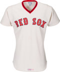Baseball Collectibles:Uniforms, 1976 Butch Hobson Game Worn Boston Red Sox Jersey. ...