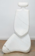 Sculpture, Don Smalley (American, 20th/21st Century). Meditation. Carved marble. 47-3/4 inches high (121.3 cm). PROVENANCE:. Acqu...
