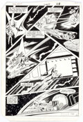 Original Comic Art:Panel Pages, Curt Swan and Dave Hunt Superman #417 Page 21 Original ArtPanel (No DC, 1986)....