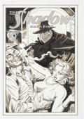 Original Comic Art:Covers, Todd Smith and Tom Yeates The Shadow Magazine CoverReinterpretation Original Art (2016)....