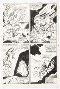 Original Comic Art:Panel Pages, Dick Ayers and Vince Colletta Ghost Rider #5 Story Page 17Original Art (Marvel, 1967)....