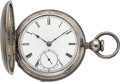 Timepieces:Pocket (pre 1900) , Waltham Rare Dennison, Howard & Davis American Watch, No. 4673,circa 1856. ...