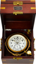 Timepieces:Other , Russian Two Day Marine Chronometer, Lever Escapement, ElectricalPulse . ...