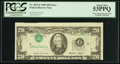 Error Notes:Inverted Third Printings, Fr. 2075-F $20 1985 Federal Reserve Note. PCGS About New 53PPQ.....
