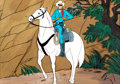 Animation Art:Production Cel, The Lone Ranger and Tonto Production Cel Group of 2(Filmation, 1980).... (Total: 2 Original Art)