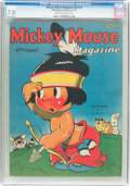 Platinum Age (1897-1937):Miscellaneous, Mickey Mouse Magazine V2#12 (K. K. Publications/Western PublishingCo., 1937) CGC FN/VF 7.0 Cream to off-white pages....