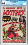 Silver Age (1956-1969):Superhero, Journey Into Mystery #83 (Marvel, 1962) CGC FN/VF 7.0 Off-white to white pages....