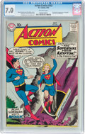Silver Age (1956-1969):Superhero, Action Comics #252 (DC, 1959) CGC FN/VF 7.0 Off-white pages....