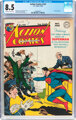 Action Comics #125 (DC, 1948) CGC VF+ 8.5 Off-white to white pages